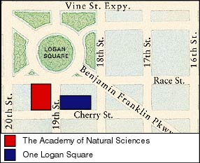 Map of One Logan Sq